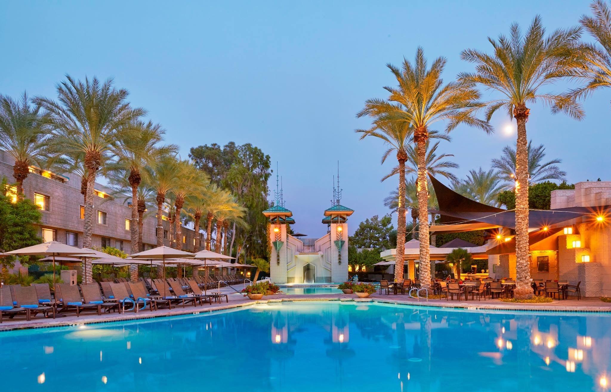 pool at Arizona Biltmore, a Waldorf Astoria Resort