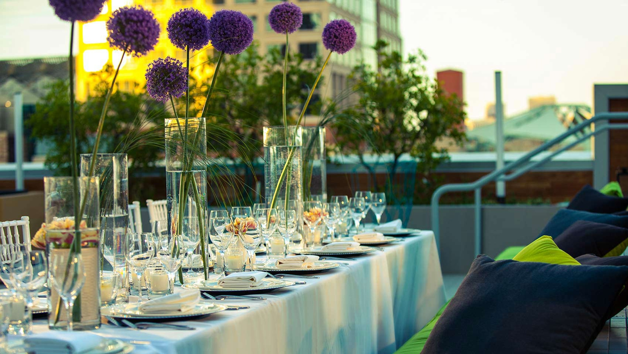 dining table at Kimpton Hotel Palomar Phoenix