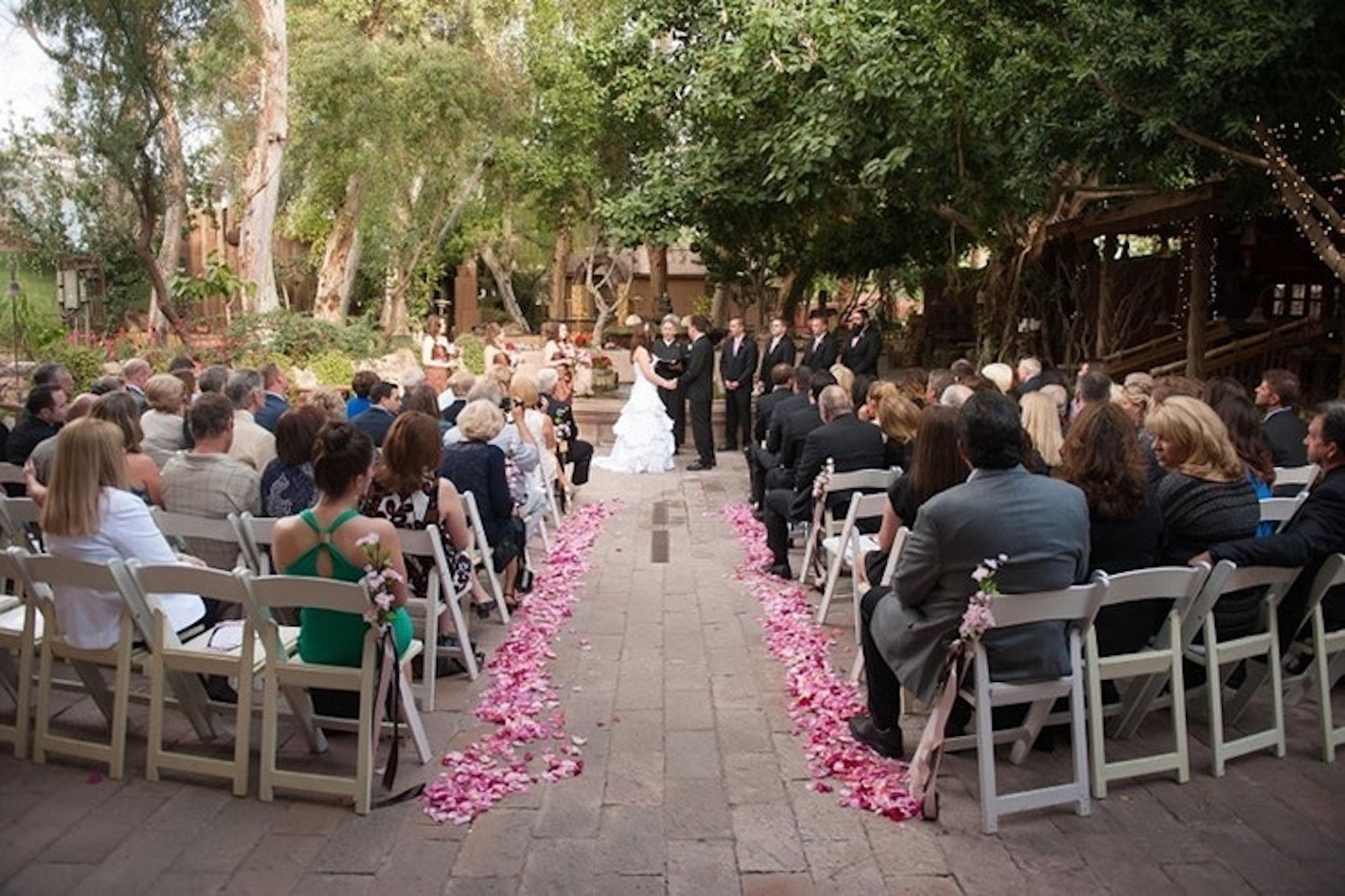 Boojum Tree Hidden Garden outdoor wedding venue
