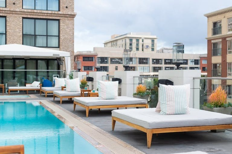 Rooftop at Pendry San Diego for San Diego Bachelorette Party | PartySlate
