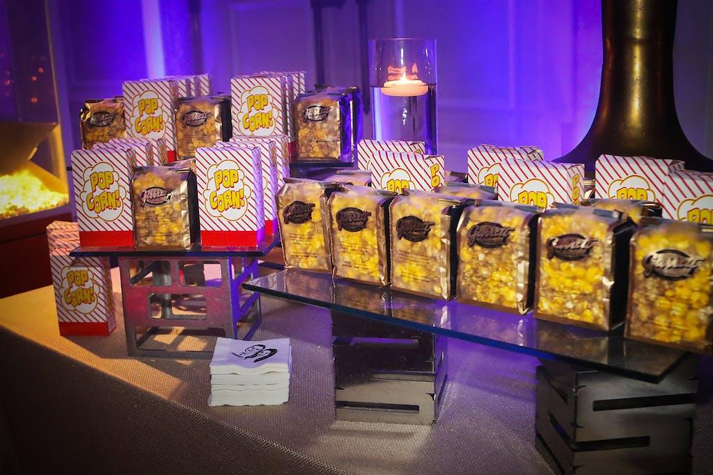 popcorn food station