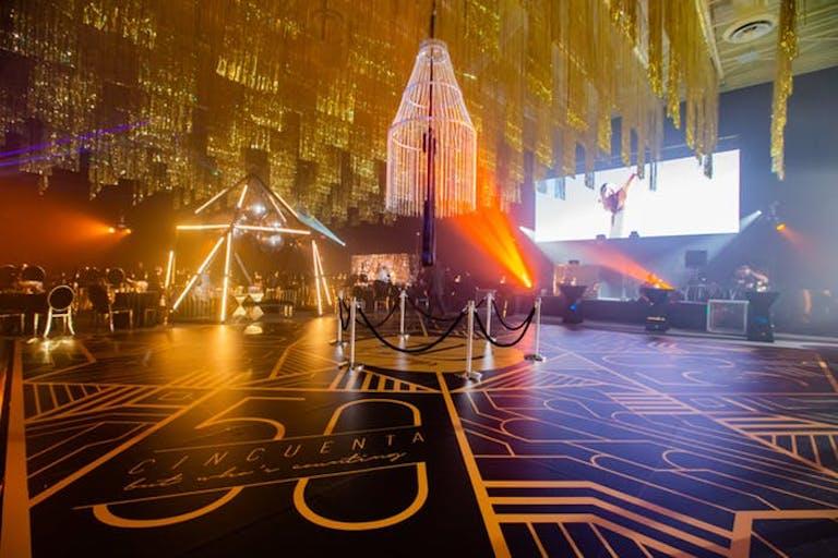 Gatbsy 50th Birthday Party Theme With Art Deco Décor | PartySlate
