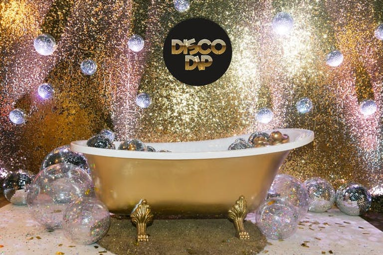 Bath Tub Balloon Disco Installation | PartySlate