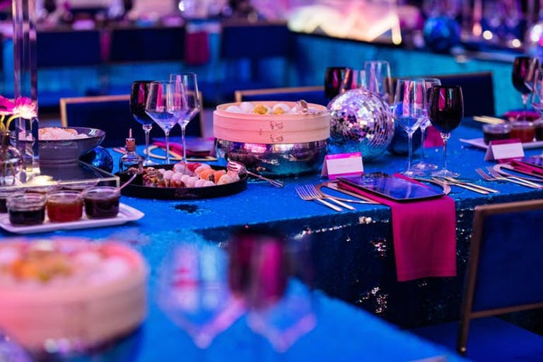 Disco Themed Party Tablescape | PartySlate