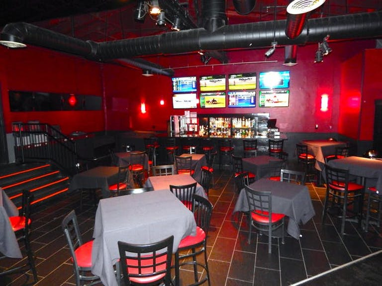 The Red Room at Joe's on Weed Street on North Side of Chicago.