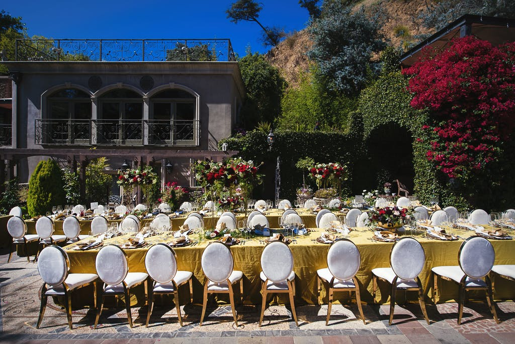 Cannabis Wedding at The Houdini Estate in Los Angeles, CA