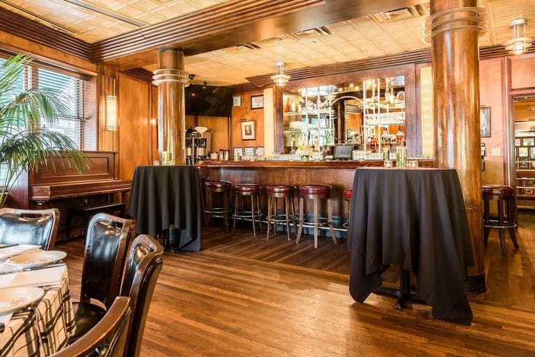 The Gibsons Room at Gibsons Bar & Steakhouse in Gold Coast Chicago.