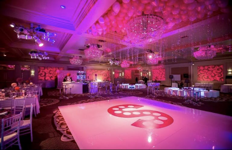 Glamorous Pink Bat Mitzvah at Fairmont Miramar Hotel & Bungalows in Santa Monica, CA