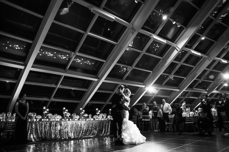 Glamorous Wedding at the Adler Planetarium