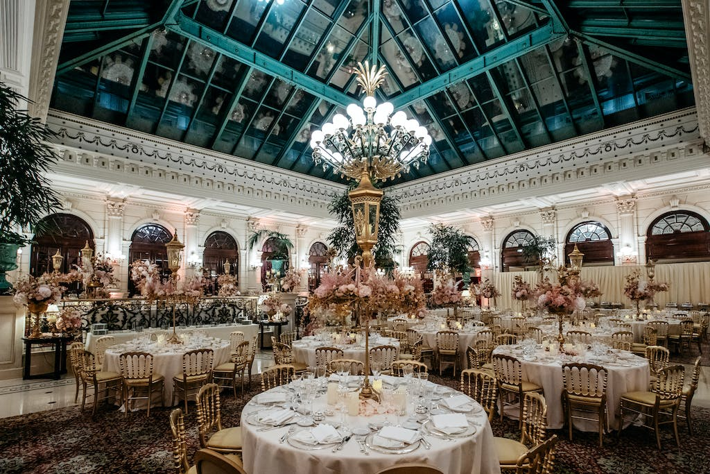 Majestic Zaffa Wedding at the Grand Hotel Intercontinental in Paris France