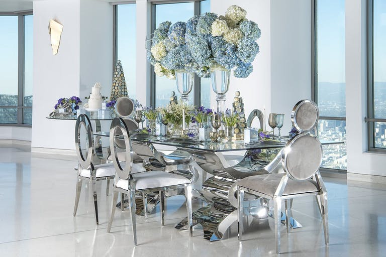 Private Dinner Party at OUE Skyspace in Downtown Los Angeles   PartySlate