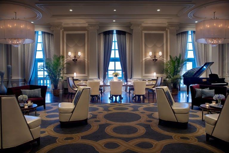 The Conrad Suite at Hilton Chicago.