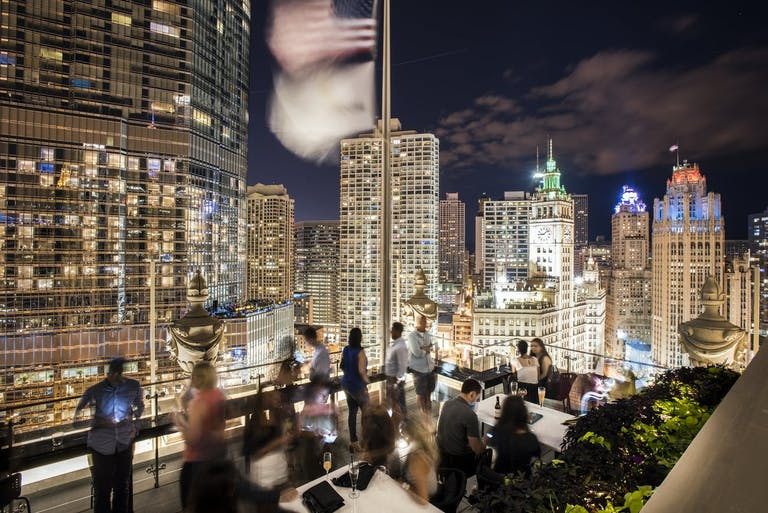 LH Tri-Level Rooftop at LondonHouse Chicago | PartySlate