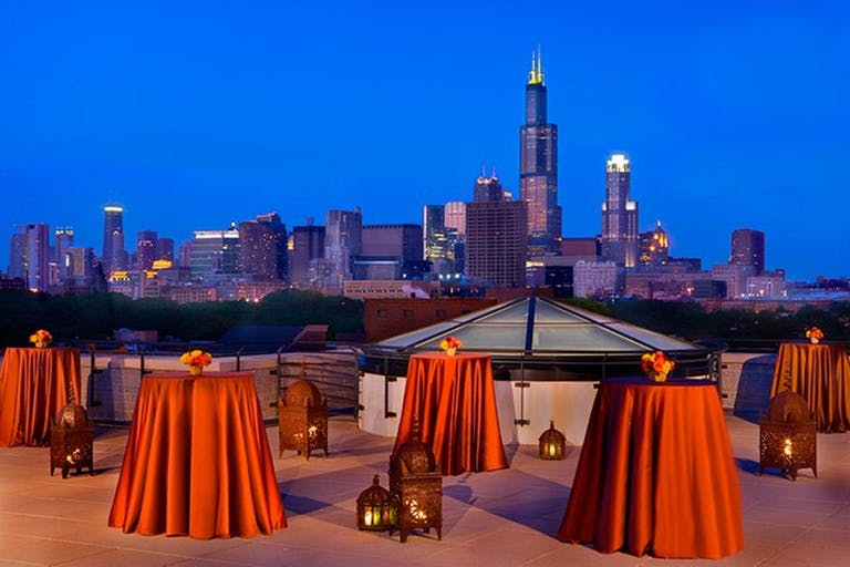 Rooftop Terrace at National Italian American Sports Hall of Fame