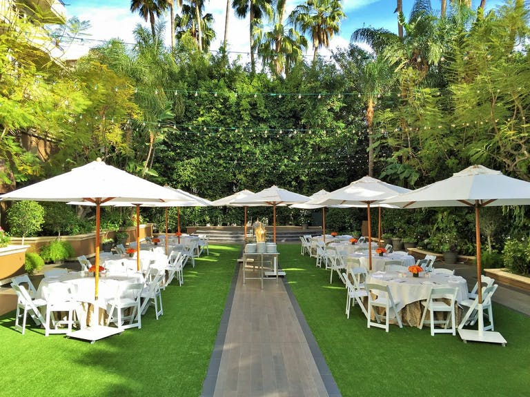 Weatherly Gardens at Four Seasons Los Angeles at Beverly Hills   PartySlate