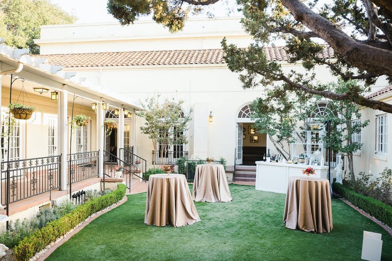 Cocktail Party at Ebell of Santa Ana's Garden Courtyard   PartySlate