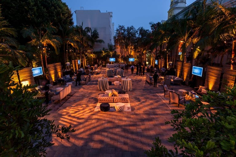 Private Party at Courtyard in Vibiana, a Downtown Los Angeles Birthday Party Venue   PartySlate