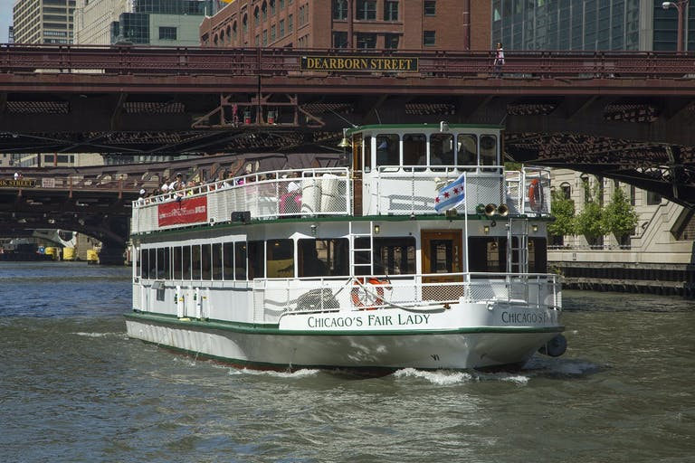 Chicago's Fair Lady of Chicago's First Lady Cruises.