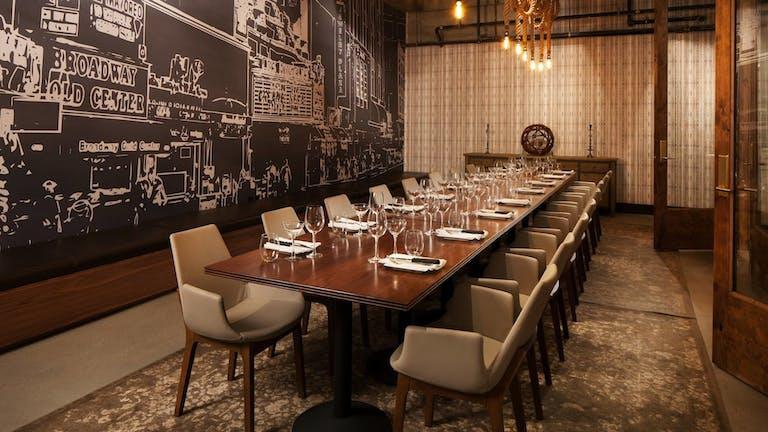 Private Dining Room at Sheraton Grand LA   PartySlate