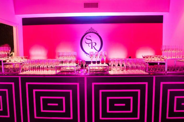 Pink French Inspired Bat Mitzvah at Terminal 5 in New York, NY