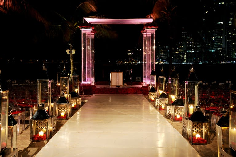 Red & Black Nightclub Wedding at Mandarin Oriental, Miami in Miami, FL | PartySlate
