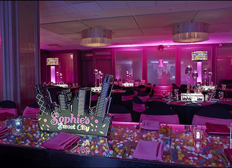 Sophie's Sweet City Pink Bat Mitzvah