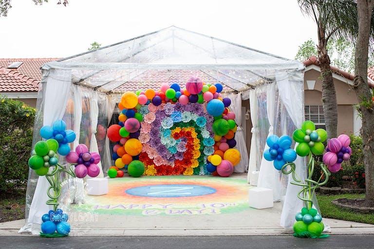 10th Birthday Driveway Celebration