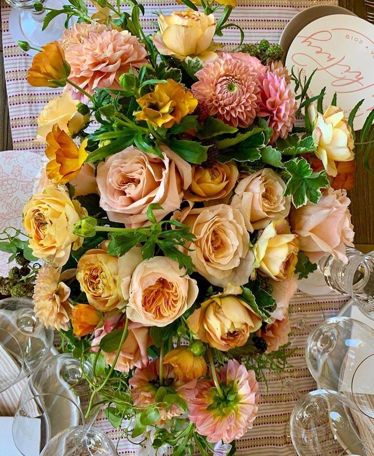 Blossoming Napa Bachelorette