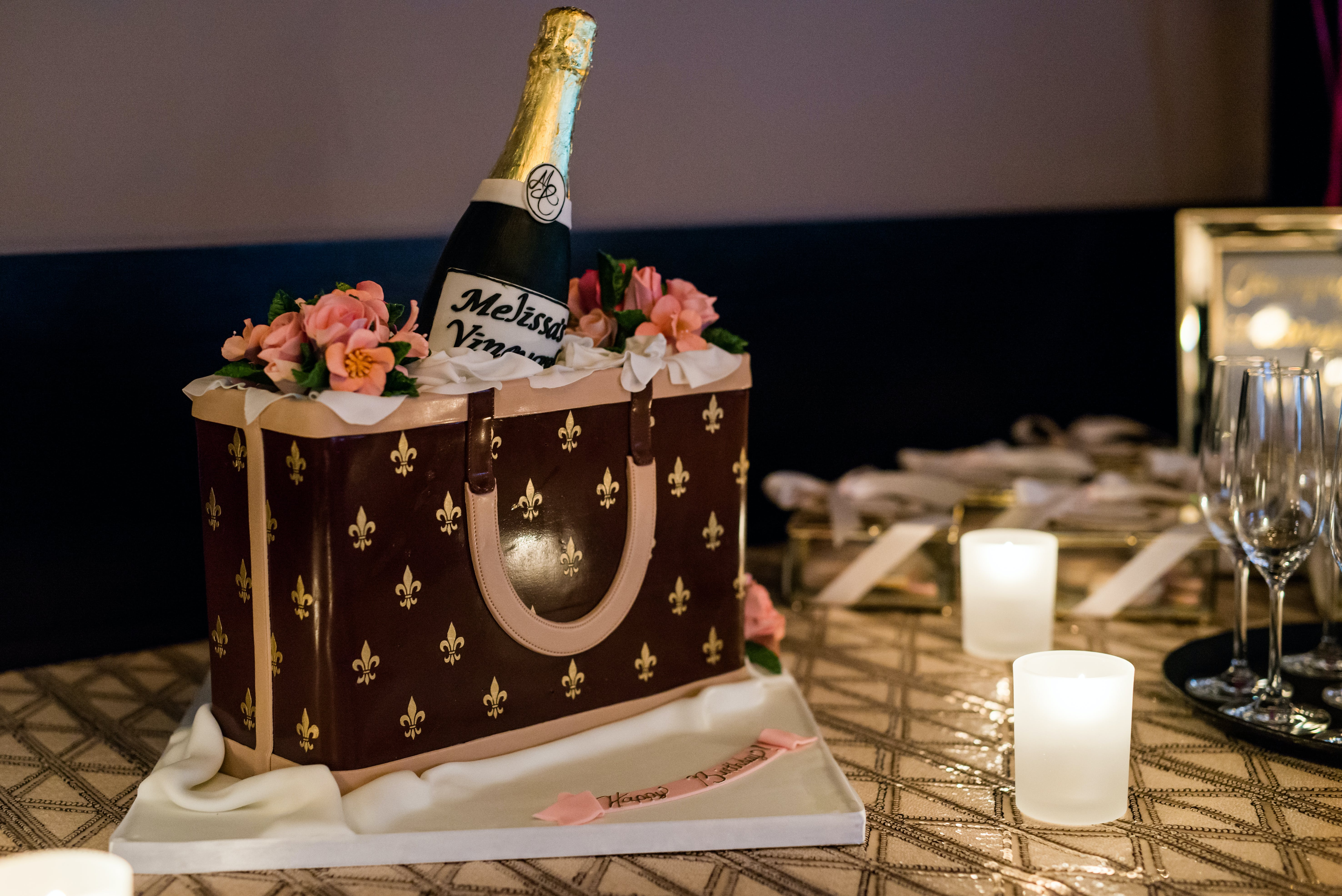 Champagne Inspired 40th Birthday at RPM Italian