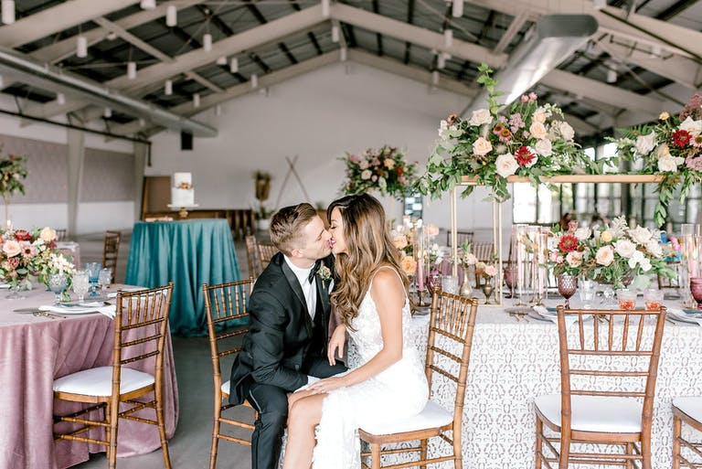 Desert Elegant Wedding at The Clayton House, Scottsdale, AZ