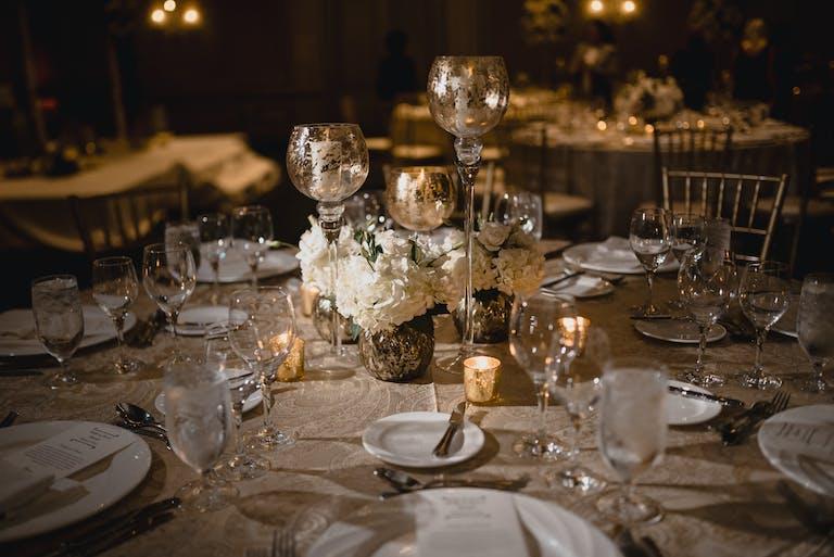 Elegant White Wedding at The Ritz-Carlton Atlanta in Atlanta, GA