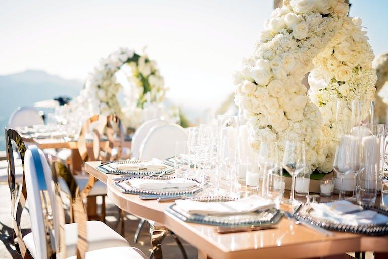 Exquisite White Malibu Wedding at Malibu Rocky Oaks Estate Vineyards