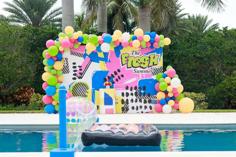 Fresh Prince of Bel-Air Themed Birthday Party at a Private Residence in Miami, FL