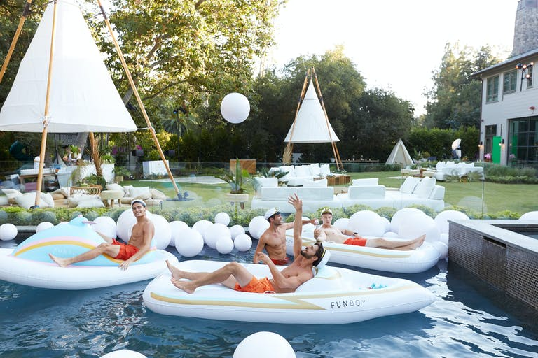 Fyre Forty 40th Birthday Party at a Private Residence in Los Angeles, CA
