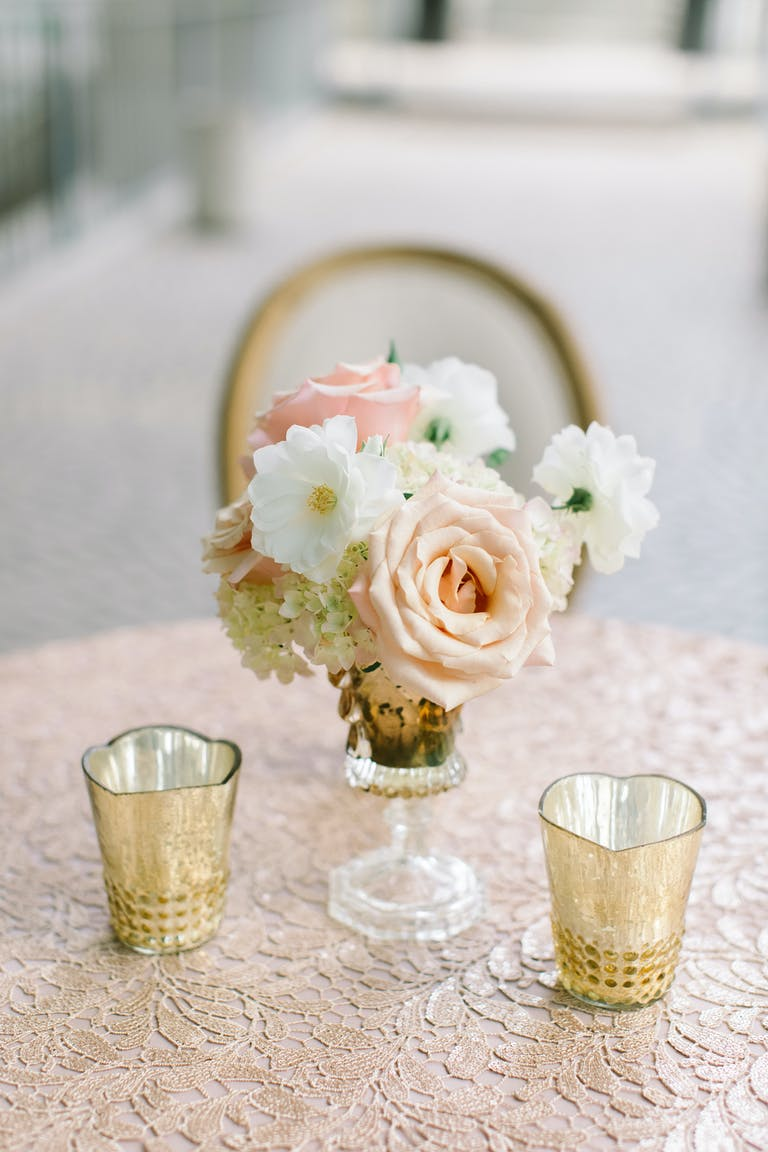 Glamorous White Wedding at The Bently Reserve in San Francisco, CA