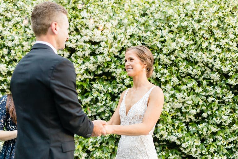 Intimate and Romantic Outdoor Wedding in San Francisco, CA