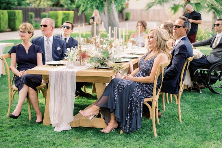Intimate Backyard Micro Wedding at a Private Residence
