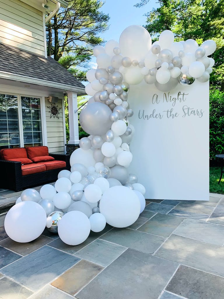 Intimate Backyard Prom Party at a Private Residence in Roslyn, NY