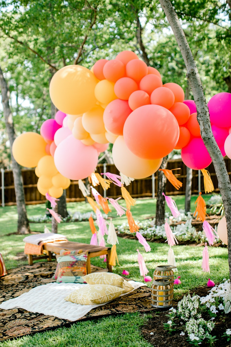 Intimate Boho Bridal Shower