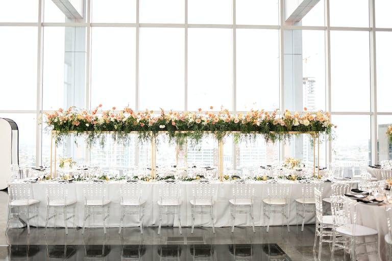 Los Angeles Skyline Wedding