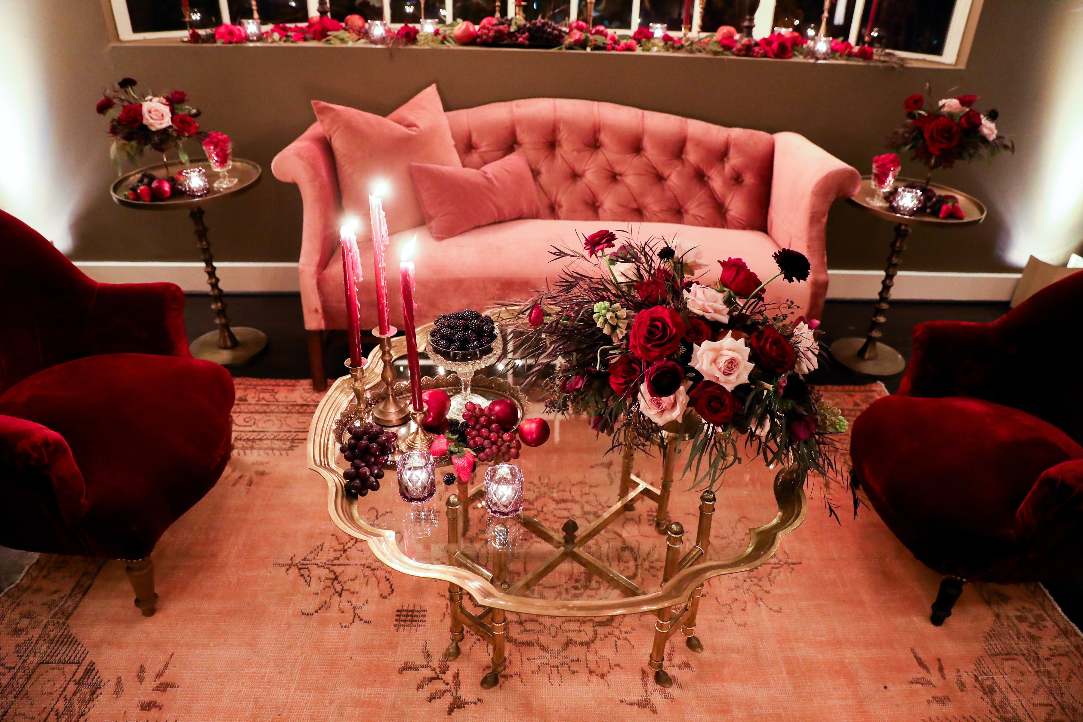 Luxe Birthday Celebration at Chateau Marmont in Los Angeles, CA