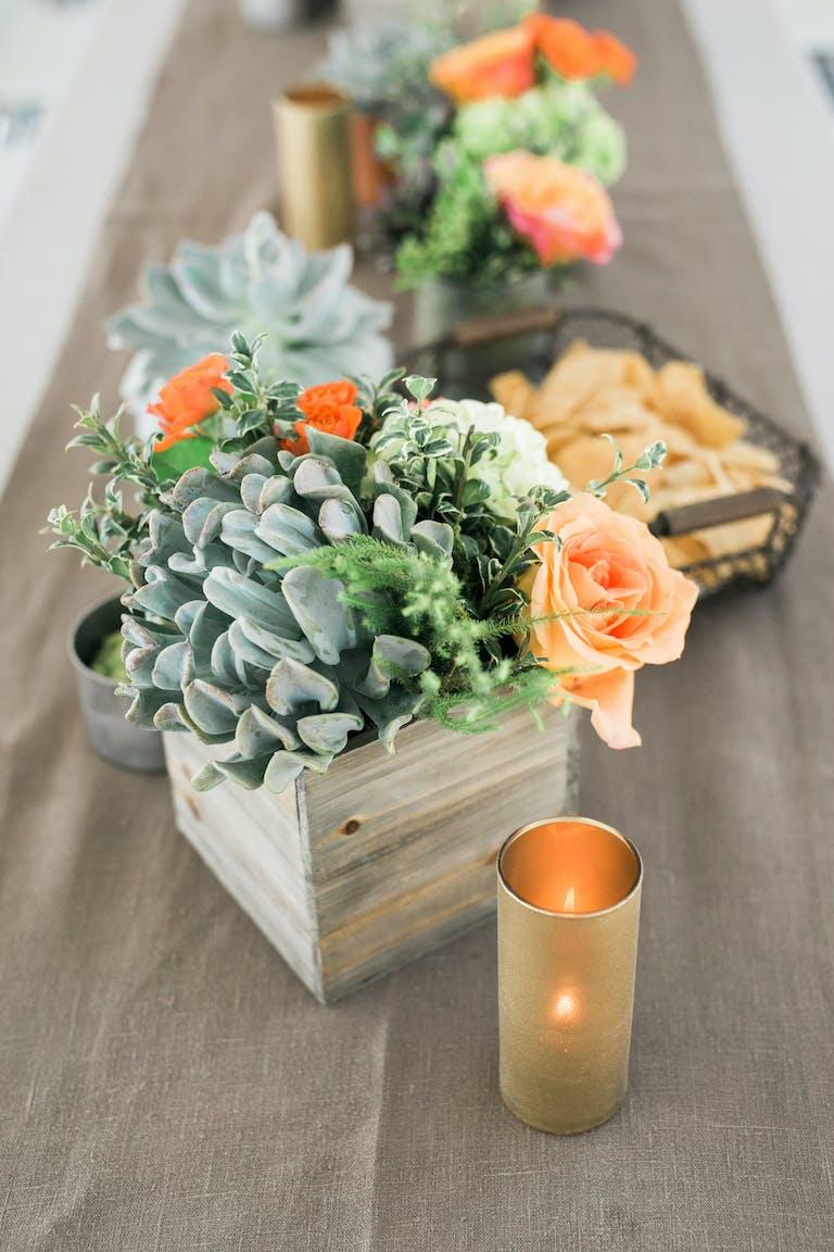 Natural & Vibrant Santa Monica Wedding