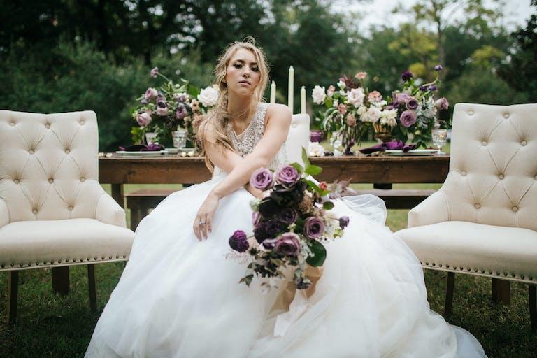 Outdoor Houstonian Hotel Wedding