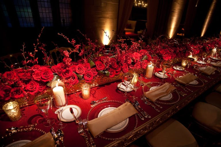 Red, Gold & Gorgeous Chicago Wedding