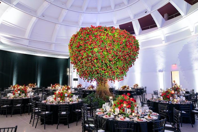 RED ROSE WEDDING AT FAENA HOTEL IN MIAMI BEACH, FLORIDA