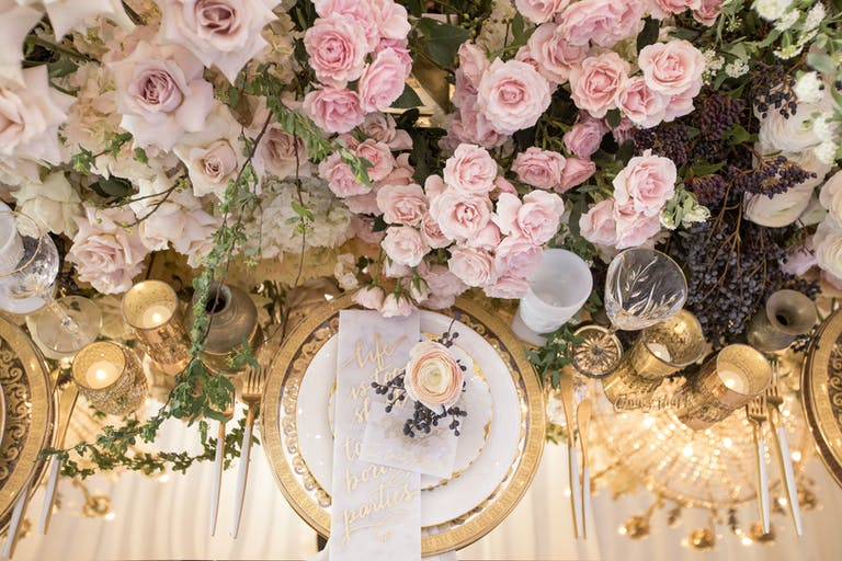 Romantic and Intimate Wedding in Los Angeles, CA