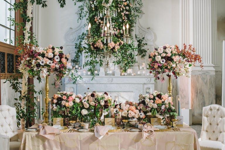 Romantic Garden Inspired Wedding