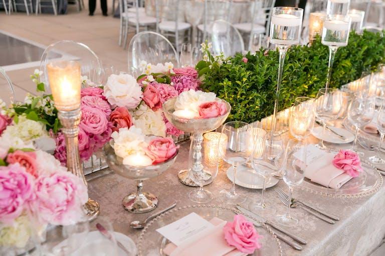 Rooftop Terrace at Millennium Park Wedding