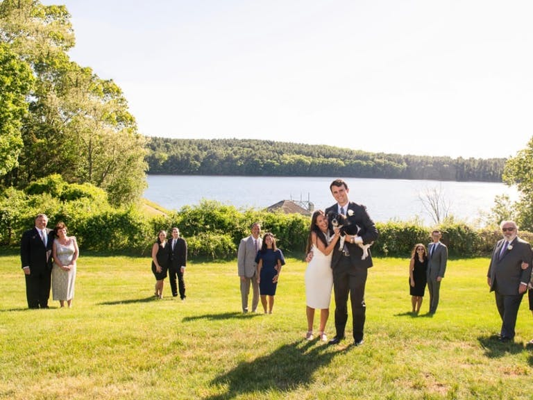 Social Distancing Wedding at a Private Residence