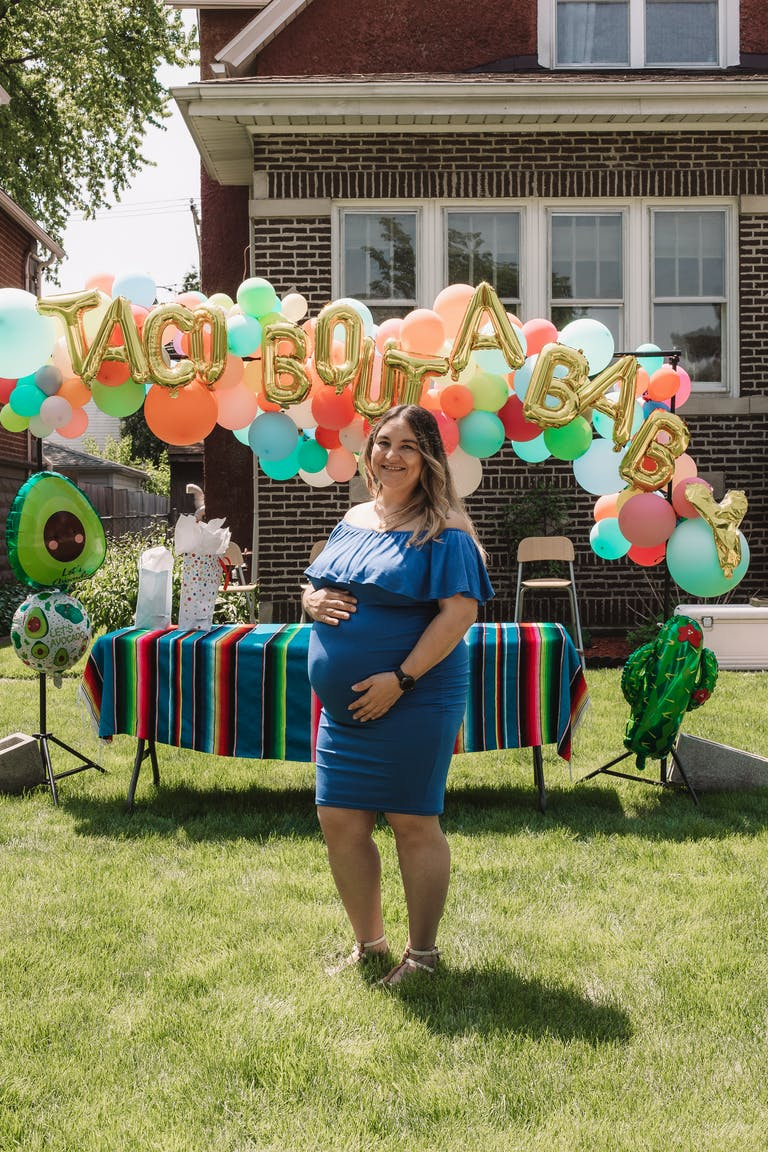 Socially-Distanced Baby Shower in Chicago, IL